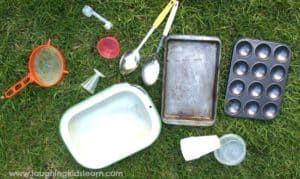 mud kitchen utensils
