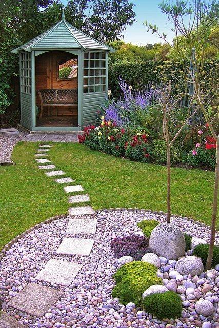 small garden gazebo