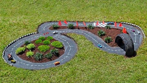 cement garden racetrack