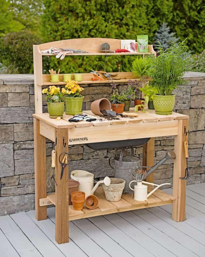 gardening work bench