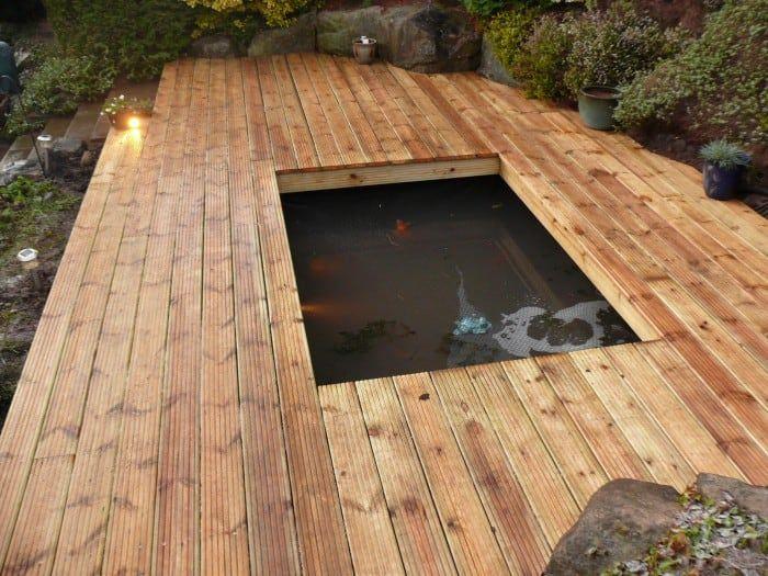 decking pond