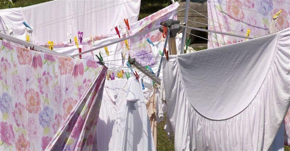 rotary washing line