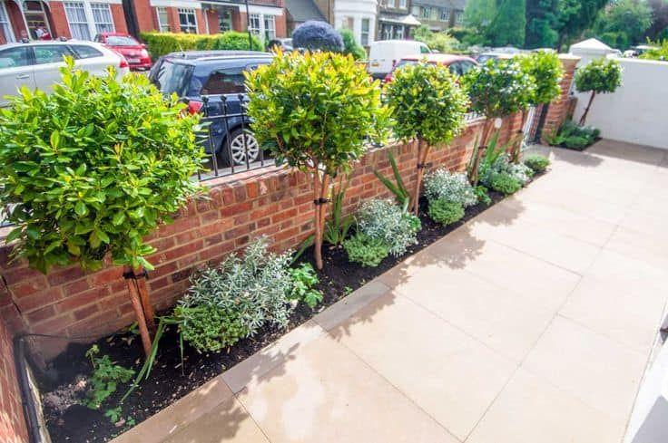 idea de jardín delantero 12