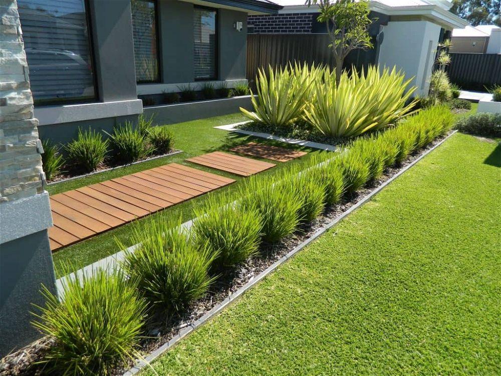 idea de jardín delantero 30