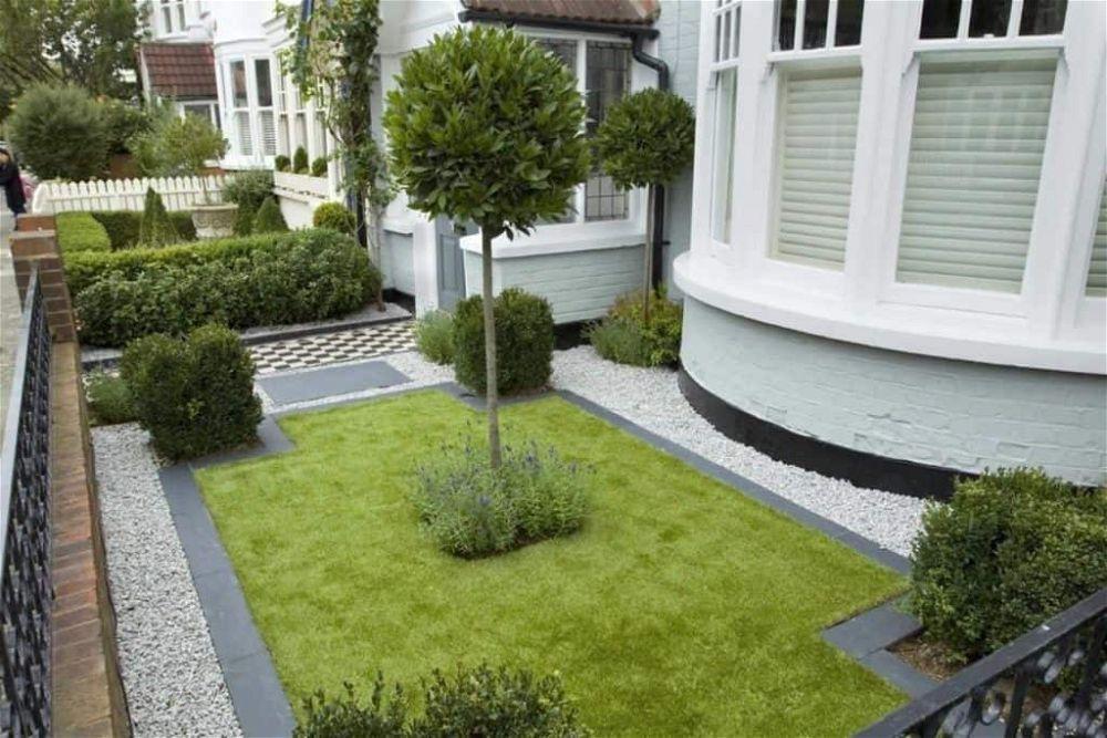 idea de jardín delantero 6