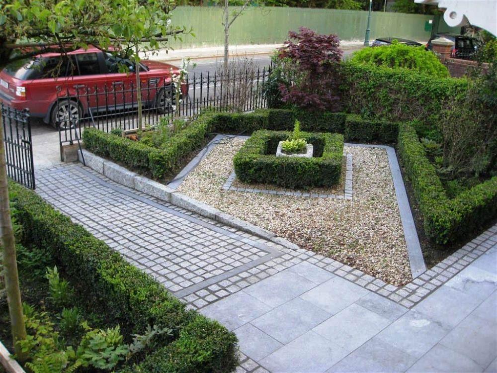idea de jardín delantero 9