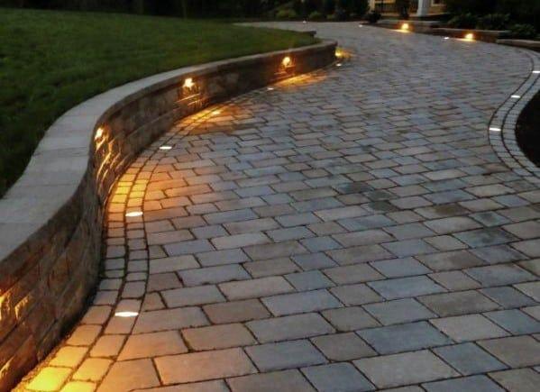 10. Garden Wall Lighting