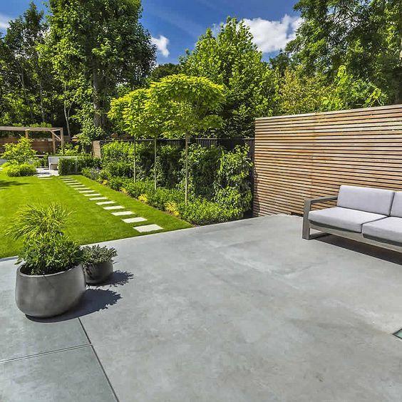 11. Large Garden Patio