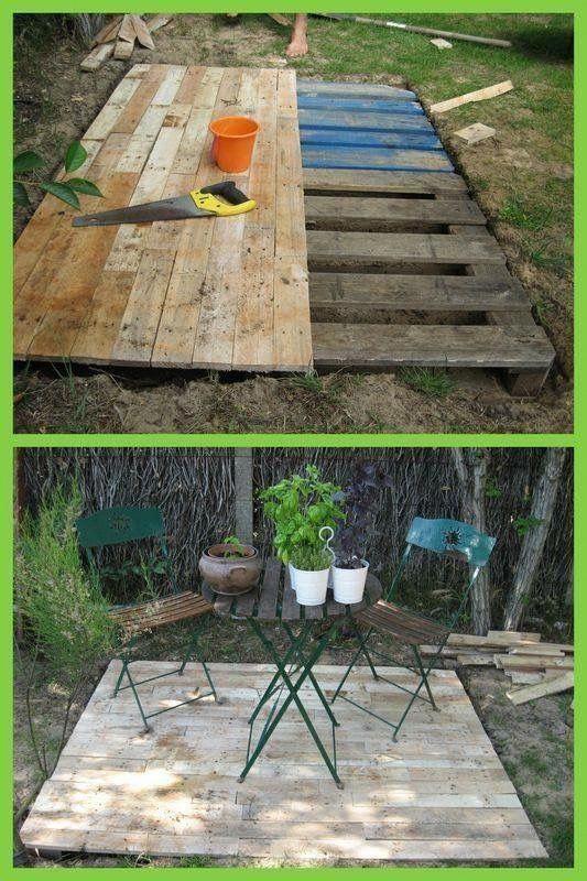 14. Cheap Garden Decking