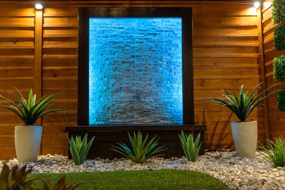 15. Garden Wall Water Feature