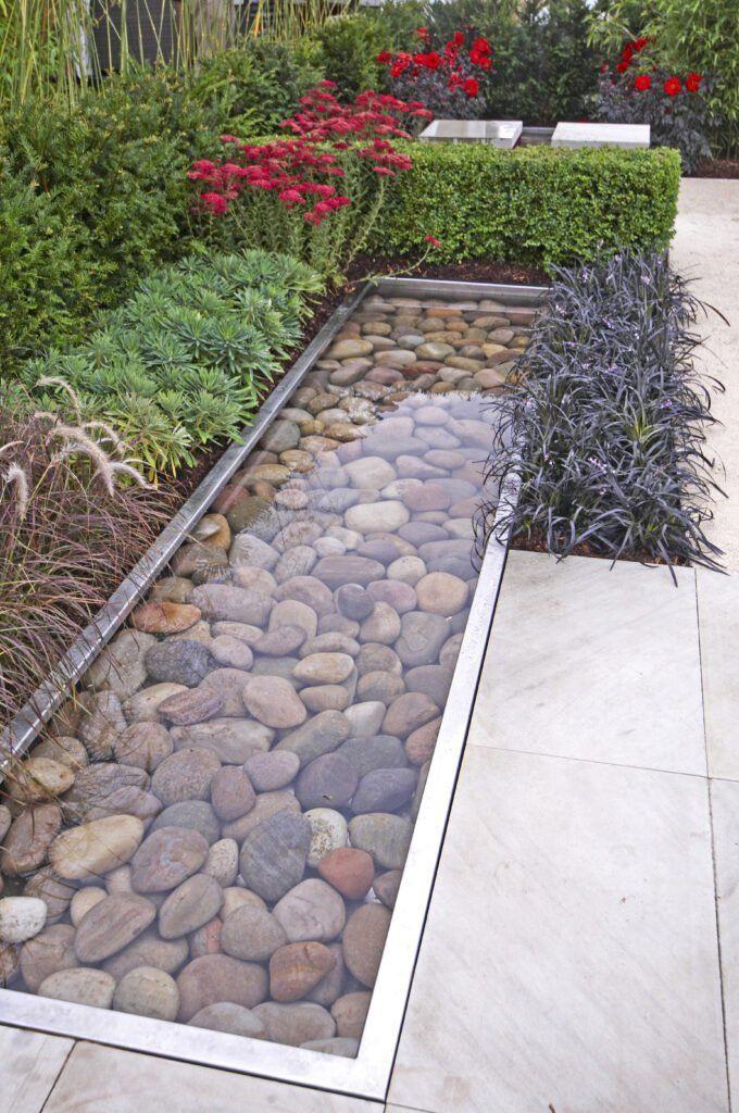 16. Patio Water Garden