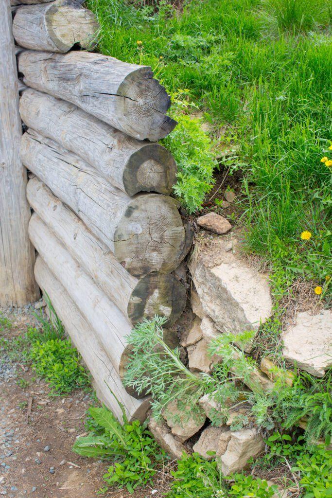 16. Small Garden Retaining Wall