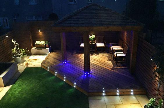 17. Garden Decking Lighting