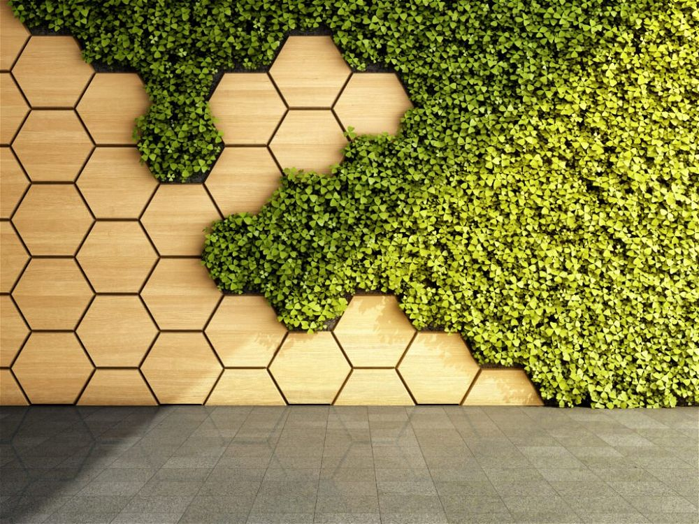 19. Modern Garden Wall