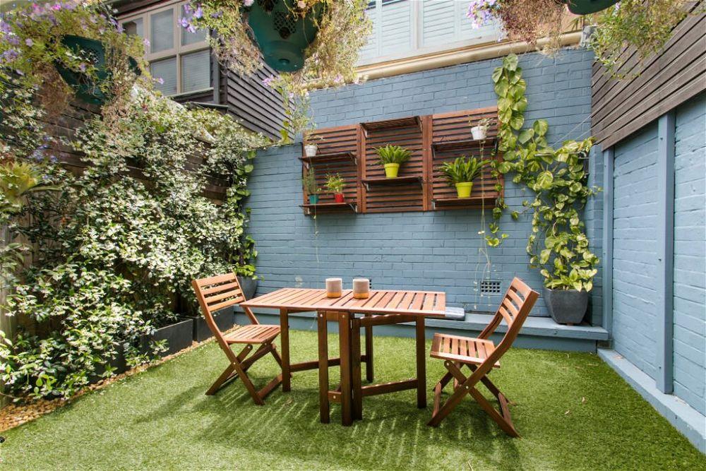 2. Patio Garden Ideas On A Budget