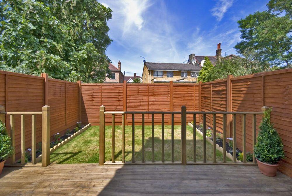 2. Small Garden Decking