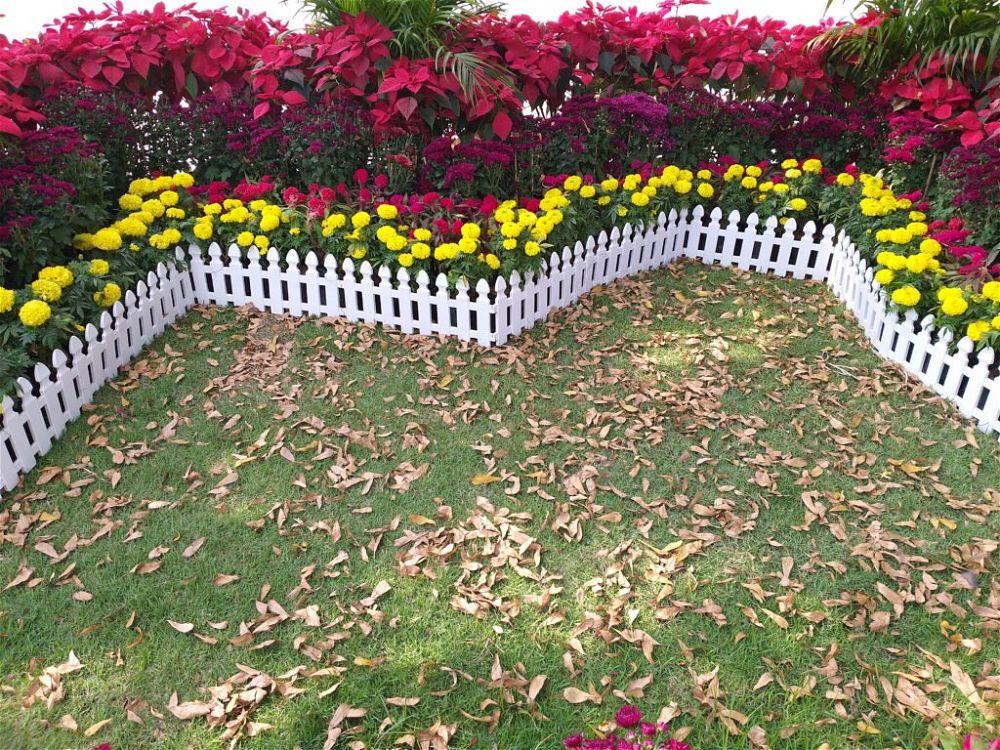 2. Small Garden Fence