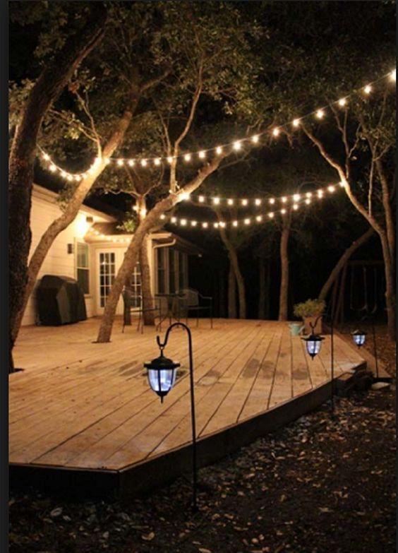 20. Garden Deck Lighting