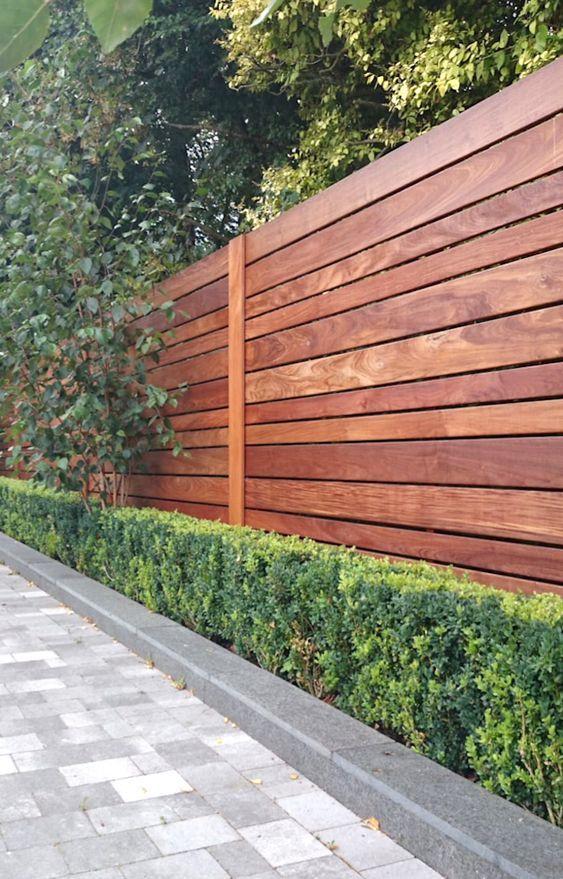20. Garden Wall Fence
