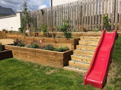 21. Decking Design For Elevated Garden