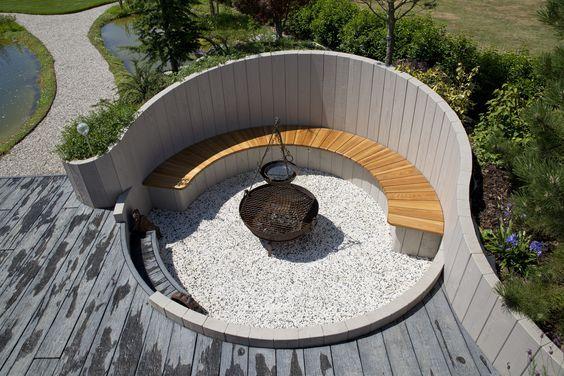 23. Garden Decking Seating