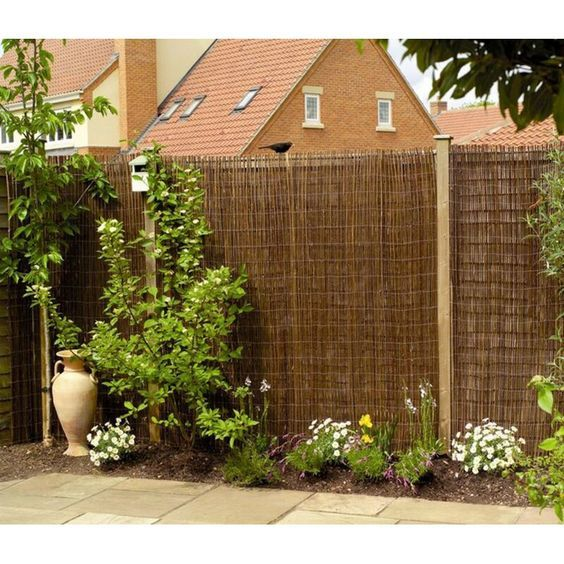 24. Garden Fence Covering