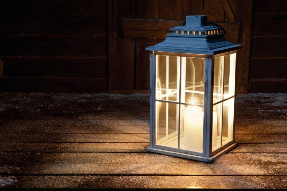 24. Traditional Garden Lighting
