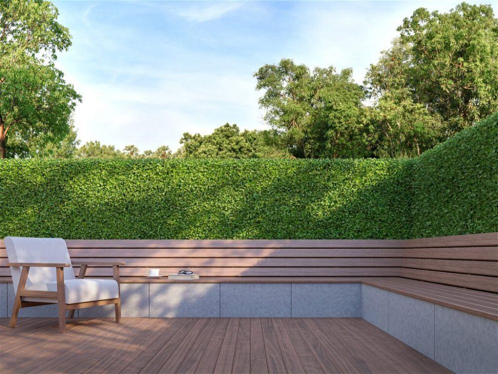 27. Contemporary Garden Wall