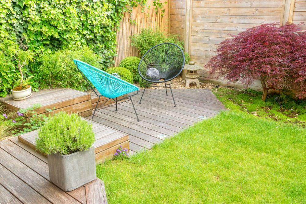 3. Budget Garden Decking