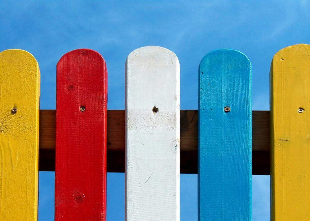 3. Garden Fence Colour