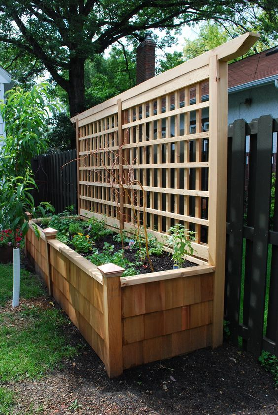 33. Raised Garden Fence