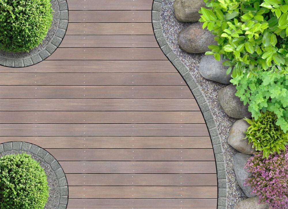 4. Back Garden Decking