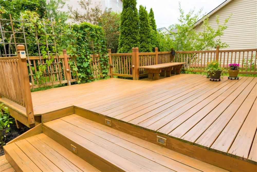 8. Garden Patio Decking