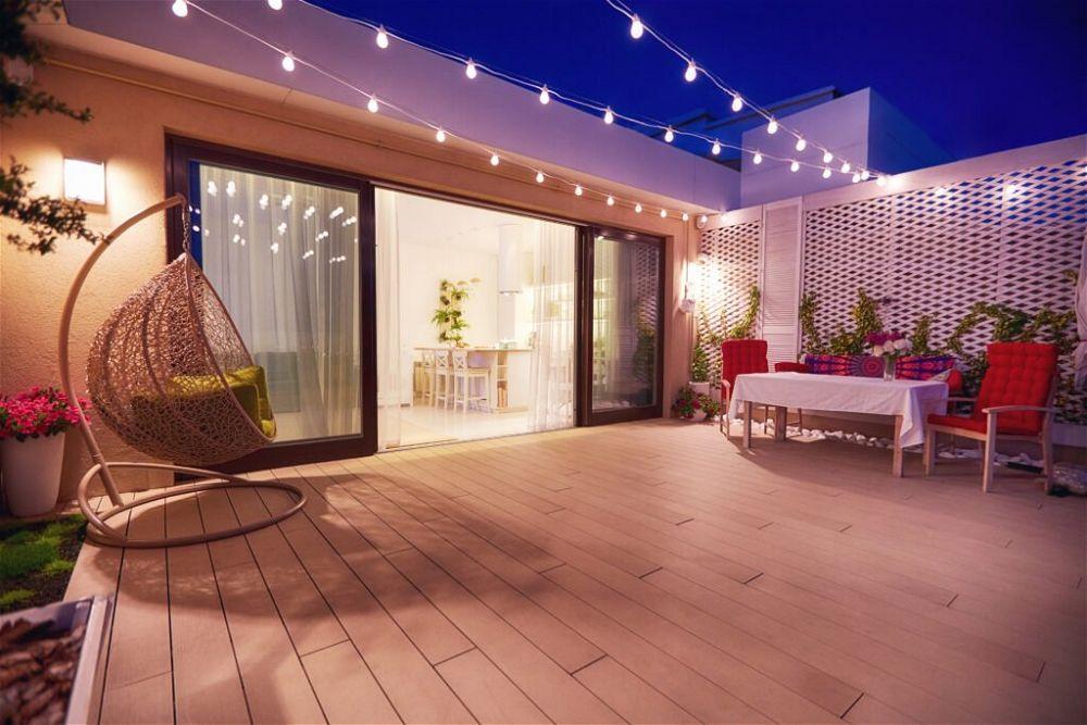 9. Garden Patio Lighting