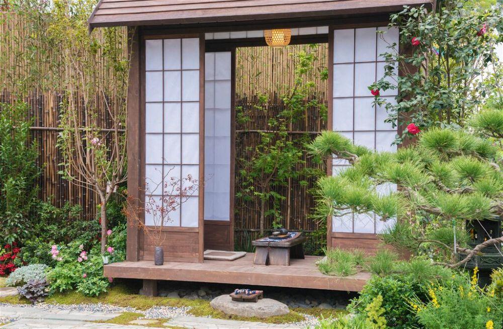 11.Diseño de jardín de té japonés