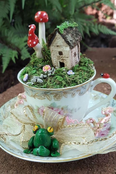 13. Small Fairy Garden