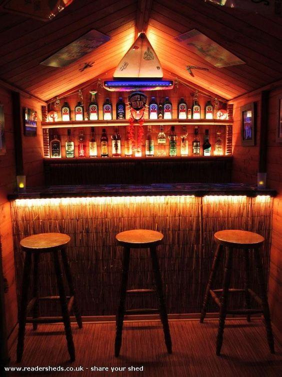 15. DIY Tiki Bar
