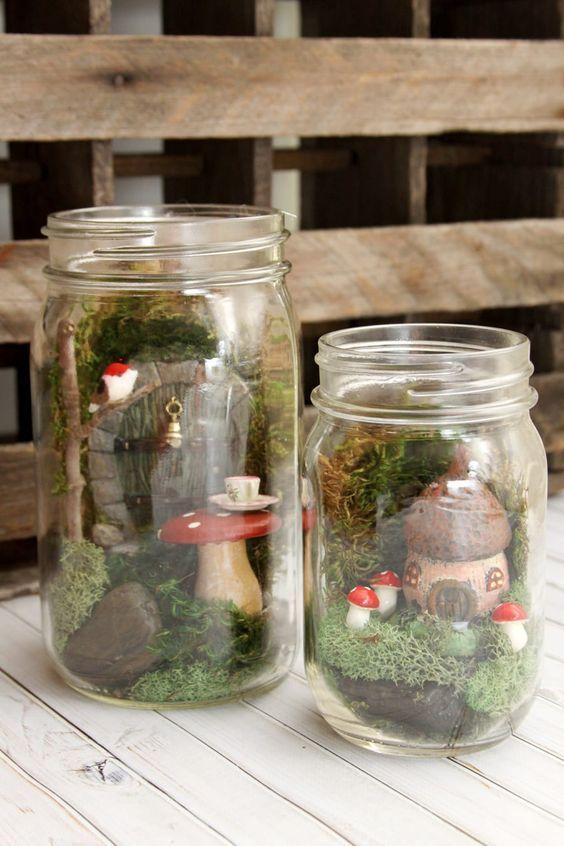 15. Fairy Garden Terrarium