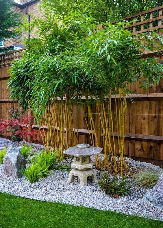 15. Jardín japonés con poco presupuesto