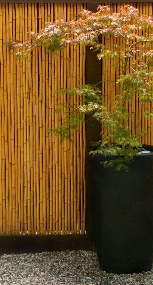 18. Jardín japonés de bricolaje