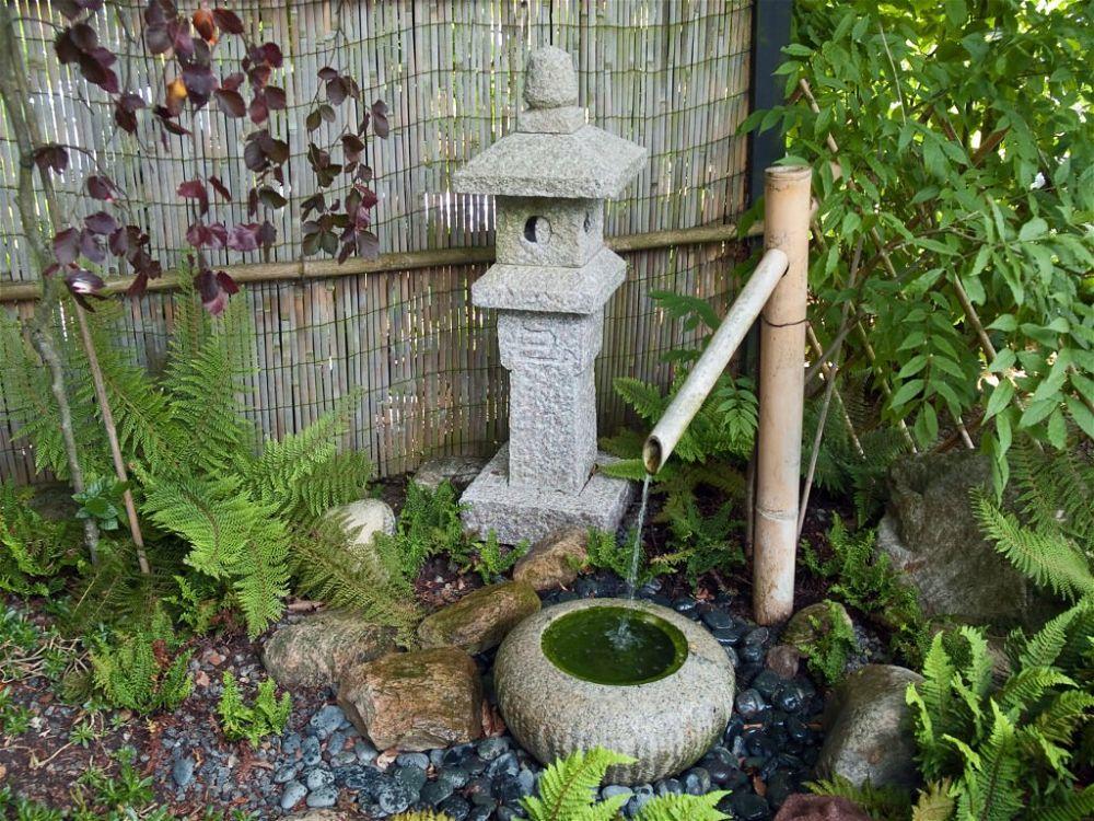 2. Pequeño jardín japonés