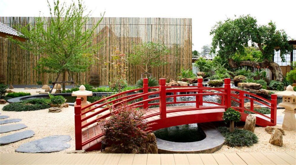 21. Jardín temático japonés