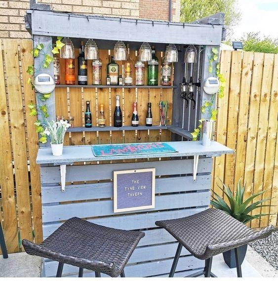 3. Small Garden Bar