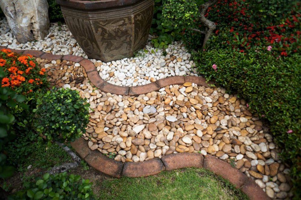 31. Pebble Garden Path