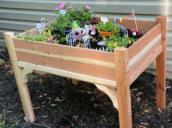 4. Fairy Garden Container