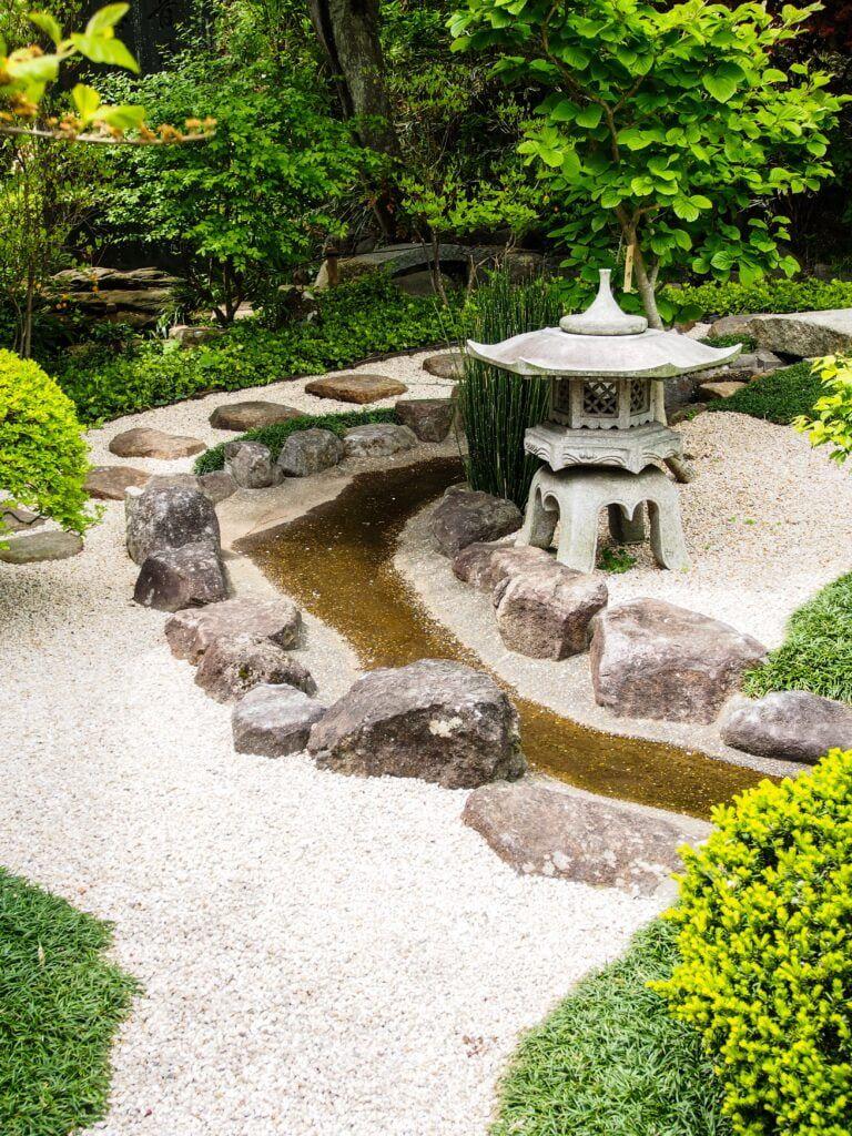 4. Jardín de estilo japonés