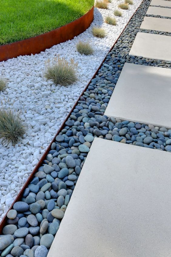 7. Modern Garden Path