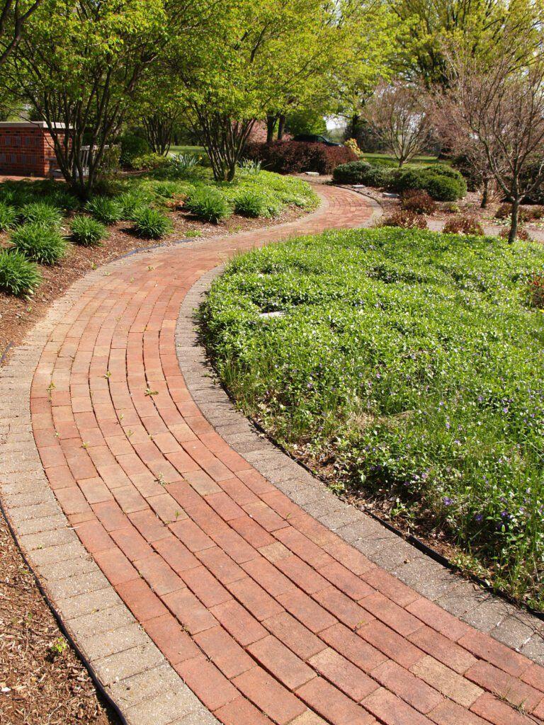 8. Brick Garden Path