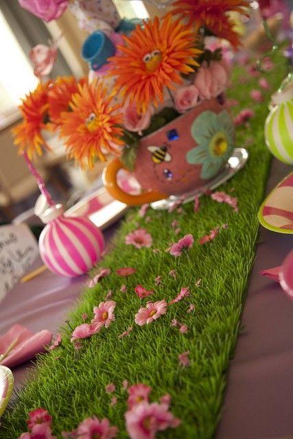 9. Fairy Garden Tea Party
