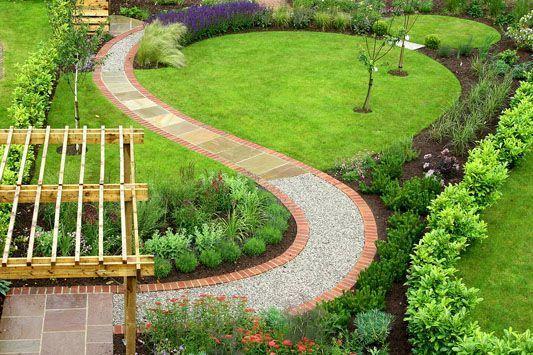 9. Garden Path Ideas For Small Gardens